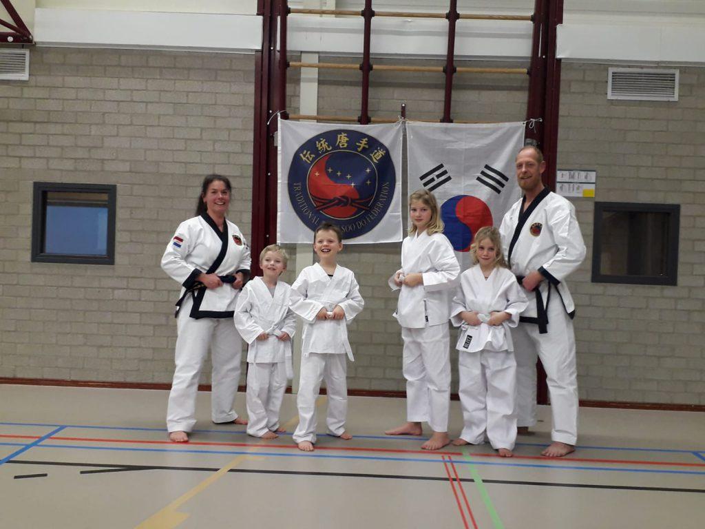 Chung Shim tang soo do sportschool Franeker koreaans karate vechtsport zelfverdediging zelfvertrouwen ontwikkeling weerbaarheid sport Harlingen jeugd